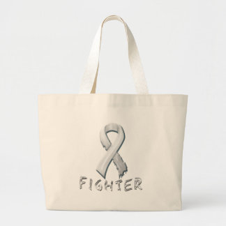 Lung Cancer Fighter Canvas Bags