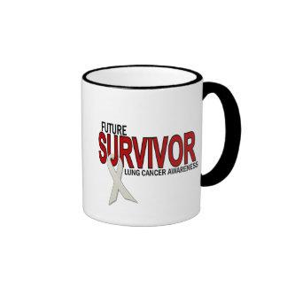 Lung Cancer Future Survivor Ringer Mug