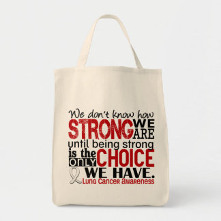 Lung Cancer How Strong We Are