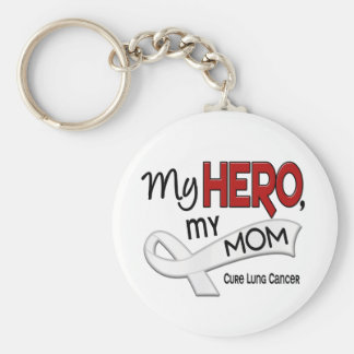 Lung Cancer MY HERO MY MOM 42 Key Ring