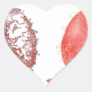 Lung of the World! Heart Sticker