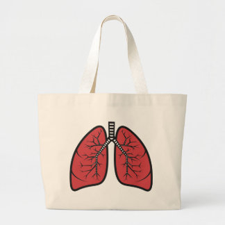 Lungs Large Tote Bag