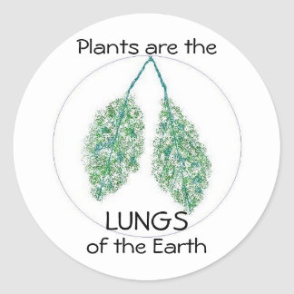 Lungs of the Earth - sticker