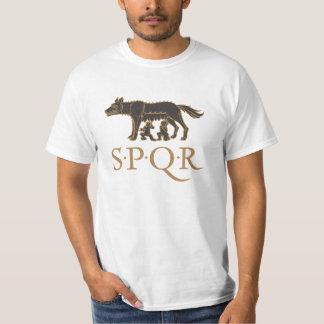Lupa Capitolina SPQR T-shirts