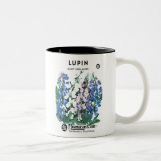 Lupin, Giant King, F. Lagomarsino & Sons Mug
