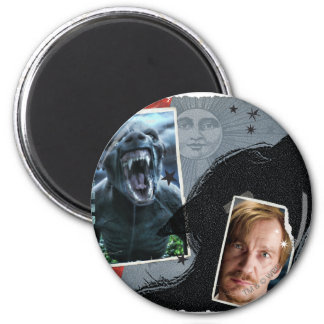 Lupin - Lycanthrope 6 Cm Round Magnet