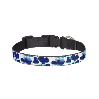 Lupin Patterned Dog Collar