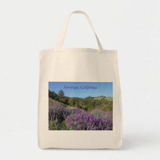 Lupine Meadow Grocery Tote