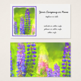 Lupines Business Card