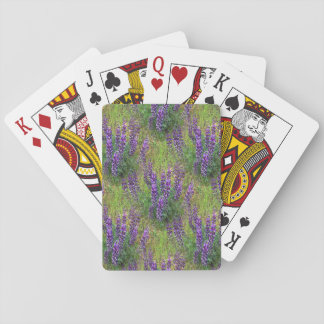 Lupines Galore... Playing Cards
