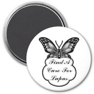 Lupus Awareness 7.5 Cm Round Magnet