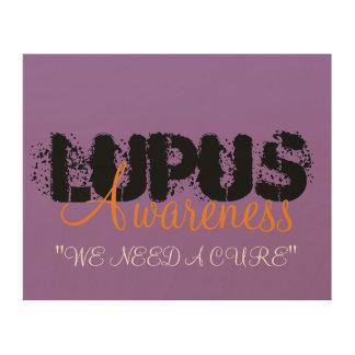 Lupus Awareness Wood Prints