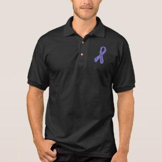 Lupus Badass torn ribbon Polo Shirt