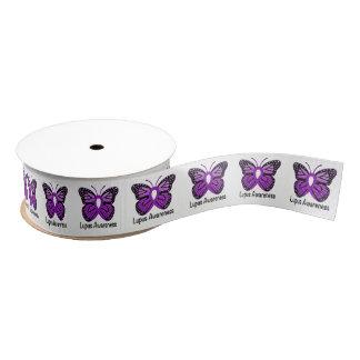 "Lupus Butterfly Awareness Ribbon 1.5"" Grosgrain Ribbon"