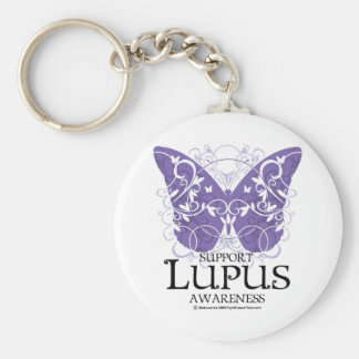 Lupus Butterfly Keychains