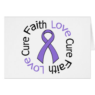 Lupus Faith Love Cure Greeting Card