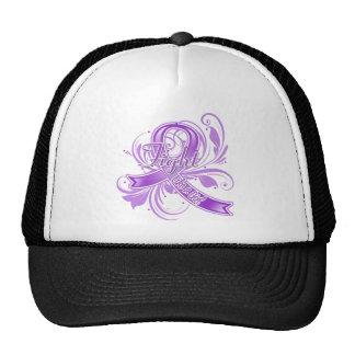 Lupus Fight Like a Girl Flourish Mesh Hat
