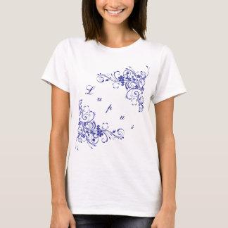 Lupus in blue T-Shirt