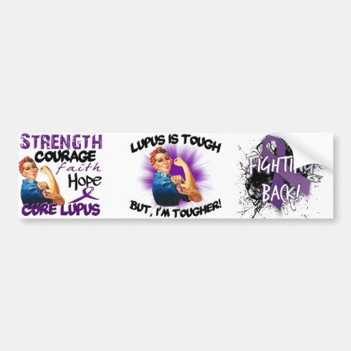Lupus is Tough... But i'm Tougher Bumper Sticker