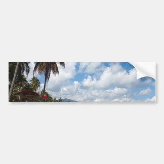 Luquillo Beach Puerto Rico Car Bumper Sticker
