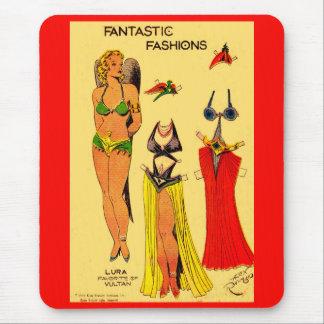 Lura Favorite of Vultan paper doll Flash Gordon Mouse Pad