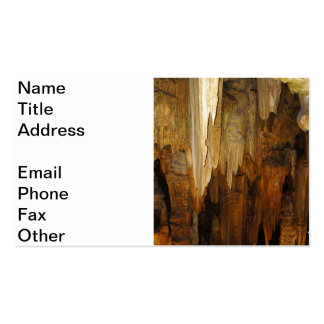 Luray Caverns Business Card Template