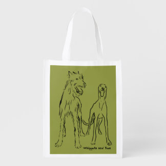 Lurcher and Co Reusable Grocery Bag