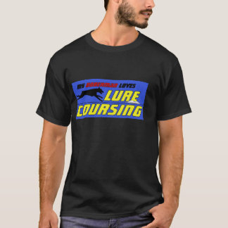 Lure Coursing Doberman shirt