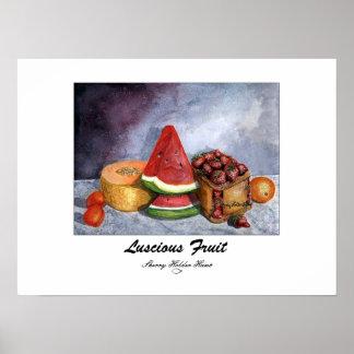 Luscious Fruit Print - Customized
