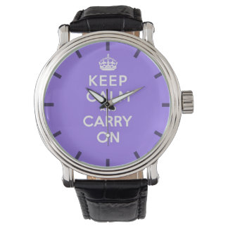 luscious Lavender  Keep Calm and Carry On Watch