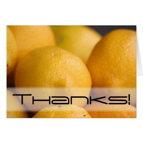 Luscious Lemons card