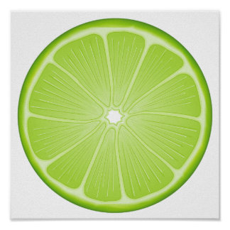 Luscious Lime Poster