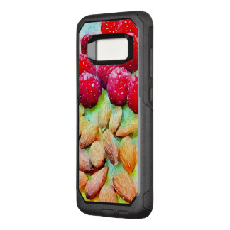 Luscious Raspberries and Almond Watercolor Artwork OtterBox Commuter Samsung Galaxy S8 Case