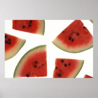 Luscious Watermelon Poster