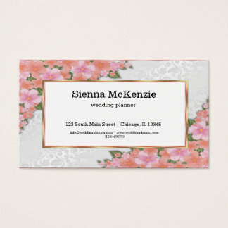Lush Floral Business Card