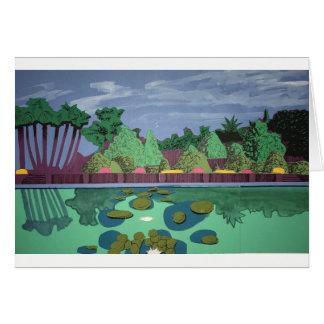 Lush Garden Card