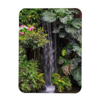 Lush Garden Waterfall, China Magnet