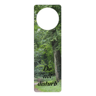 Lush Green Forest Door Hanger