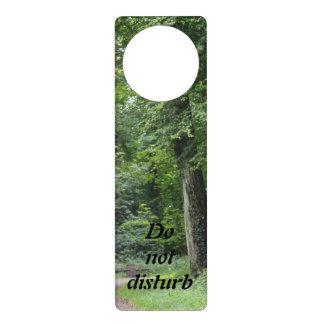 Lush Green Forest Door Hangers