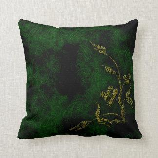 Lush Green Plant Life Cushion