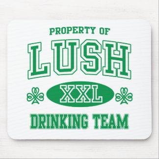 Lush Irish Drinking Team Mouse Pads