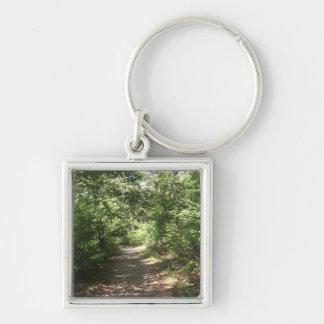 Lush Pennsylvania Trail Key Ring
