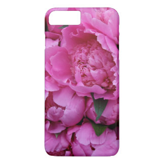 Lush Pink Peony Floral Photographic Pattern iPhone 8 Plus/7 Plus Case