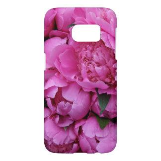 Lush Pink Peony Flowers