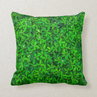 Lush Shrubbery Throw Pillow