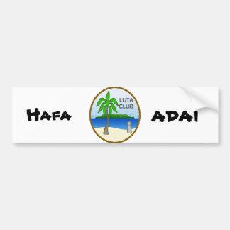 Luta Club Bumper Sticker