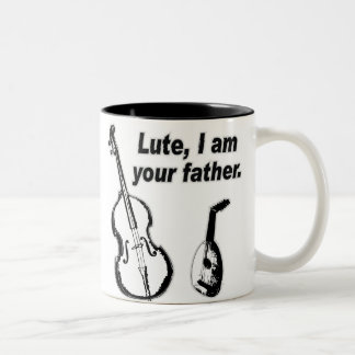 Lute Father Two-Tone Coffee Mug