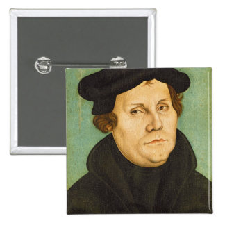 Luther as Professor, 1529 15 Cm Square Badge