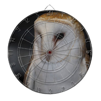 Luther- Common Barn Owl V Dartboard With Darts