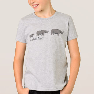 """Luther Red """"Black Rhino"""" T-Shirt"""